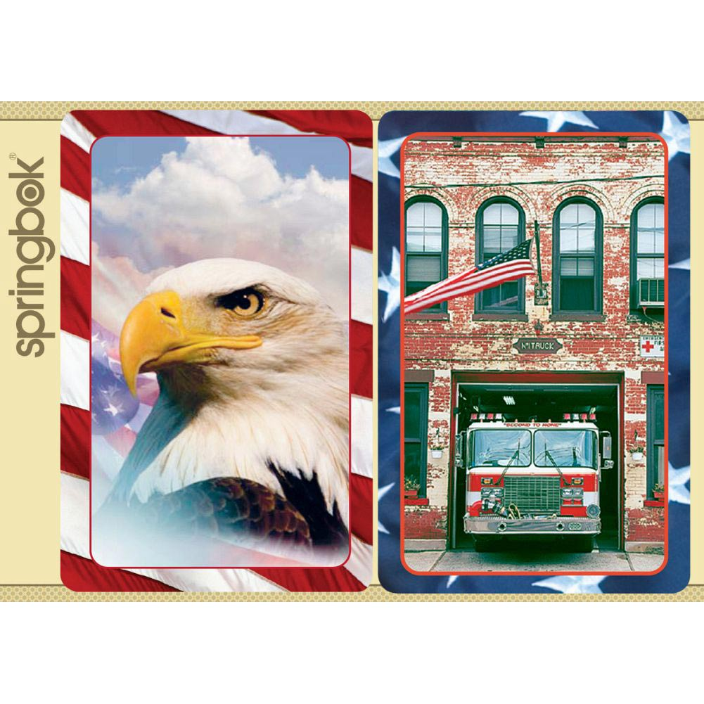 Springbok America the Beautiful Playing Cards Jumbo Print