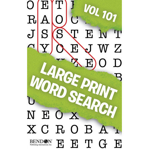 Bendon Publishing Intl Word Search Puzzle Book