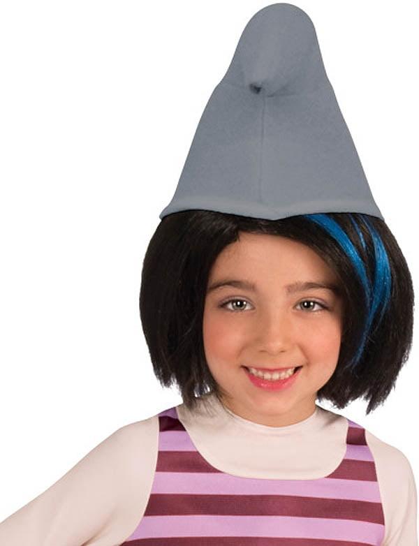 The Smurfs 2 Vexy Costume Wig Child Black Blue Walmart Com Walmart Com