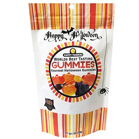 Happy Yummies Worlds Best Tasting Gummies Halloween Limited Edition 1 Pack (7oz)](Yummy Halloween Treats)