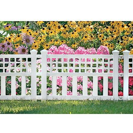 vinyl picket fence panels. suncast grand view fence 3pack white vinyl picket panels a