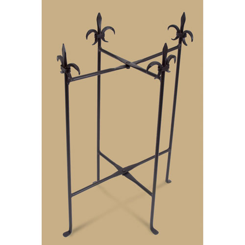 Kindwer Fleur de Lis Stand for Tubs