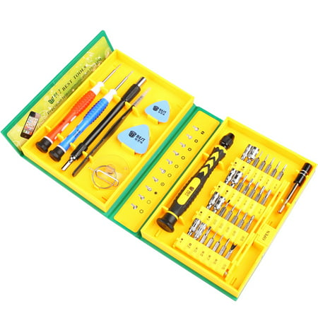 BEST 38 in 1 Screwdriver Set Mobile Phone Opening Tool Kit for