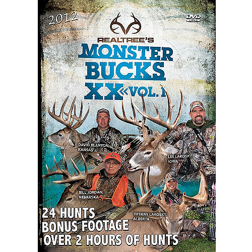RT Monster Bucks XX V1 DVD by REALTREE OUTDOORS PRODUCTS INC