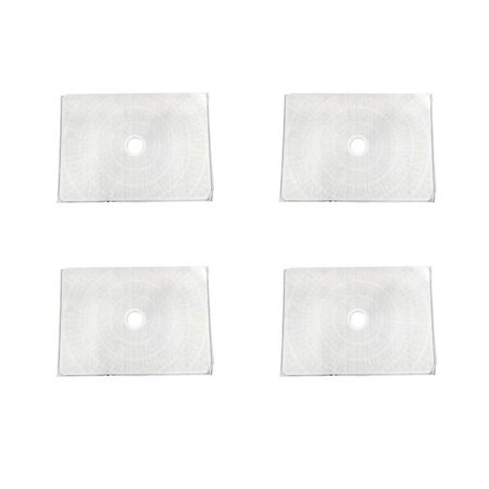 4 Unicel Anthony Apollo/Flowmaster Rectangular Pool Replacement Filter Grids Anthony Filter Grid