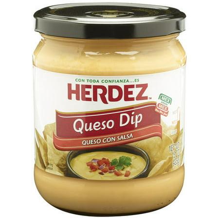 Herdez Queso Con Salsa Queso Dip, 15 oz