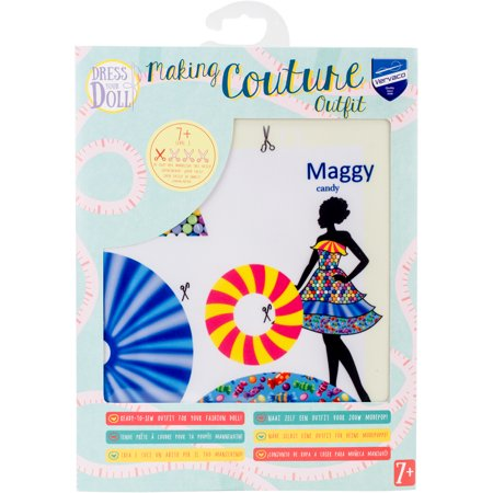 Dress Your Doll Making Couture Outfit Set Maggy Candy