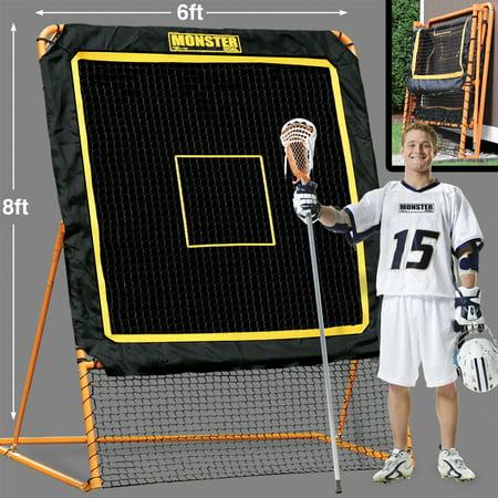 EZ Goal Lacrosse Professional Practice Rebounder - Halloween Lacrosse Practice