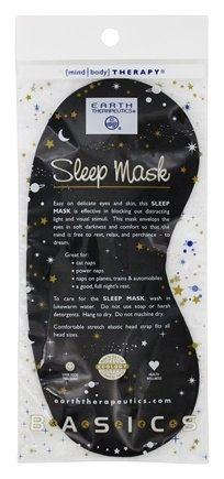 Sleep Mask by Earth Therapeutics (pack of 6) My Sonic Face Washcloth Teal by Pulsaderm (pack of 1)
