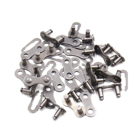 15Pcs Metal Chain Master Link Joint Clips Connectors for MTB Bike (Joint Clip)