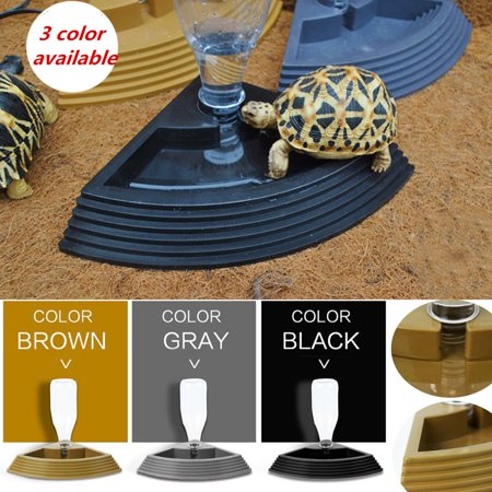 Automatic Drinking Water Dispenser Dish Feeder Bowl for Pet Tortoise Reptile