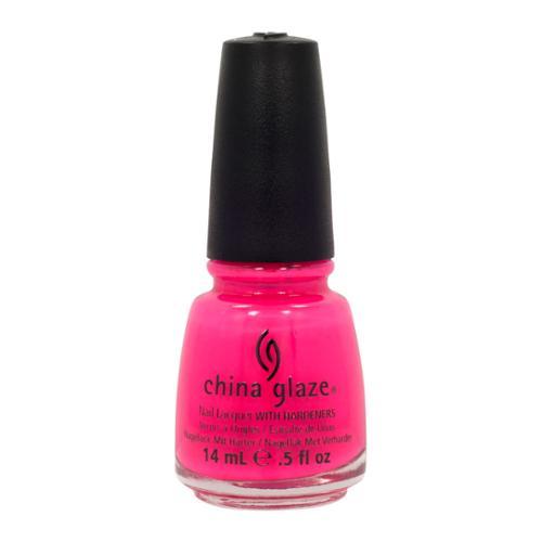 China Glaze 0.5oz Nail Polish Lacquer Clay Pink, ESCAPING REALITY, 81121