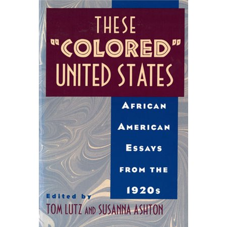 Purchase A Powerpoint Presentation These Colored United States  African American Essays From  Learning English Essay also Business Plan Writers Ireland These Colored United States  African American Essays From The  Someone To Write Article Review Due