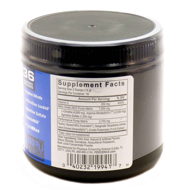PEScience High Volume, Nitric Oxide Booster, Raspberry Lemonade, 18 Servings