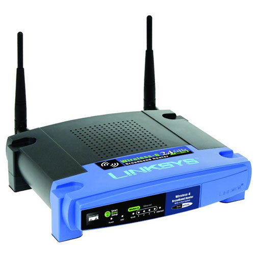 LINKSYS WRT Wireless-G Broadband Router