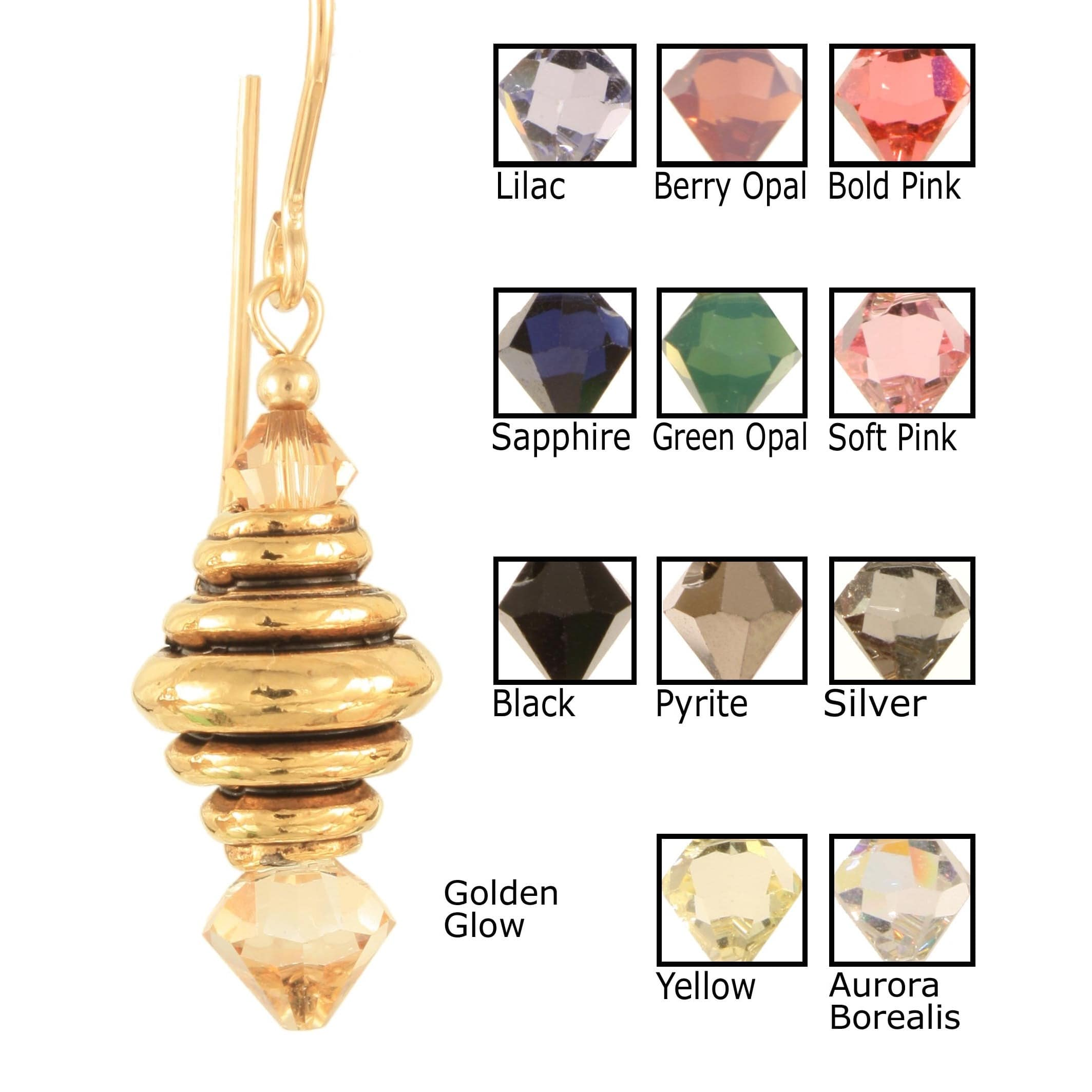 Ardent Designs Jewels of the Honey Bee Earrings