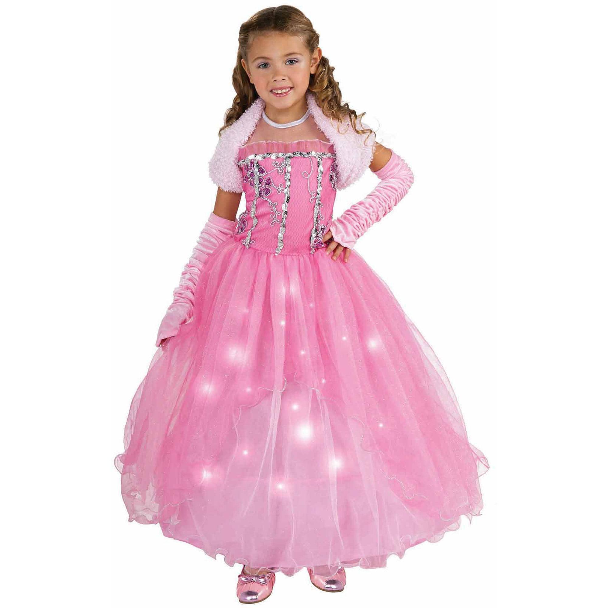 pretty pink princess girls halloween costume - Halloween Princess Costumes For Toddlers