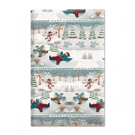 - Snow Days Jumbo Rolled Gift Wrap - 72 sq ft.