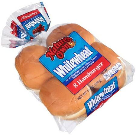 Nature S Own Wheat Hamburger Buns Nutrition