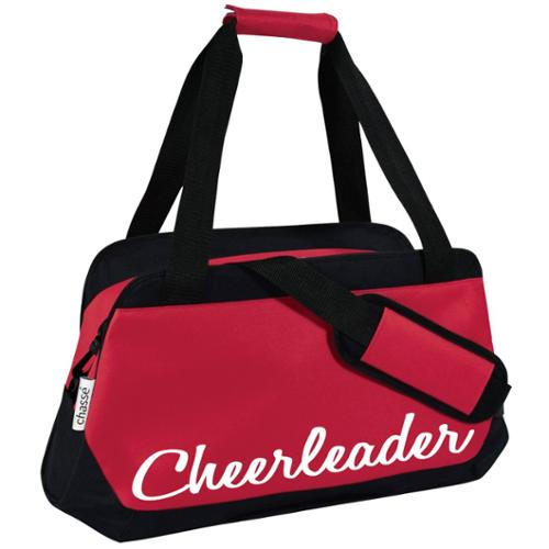 """Chasse Girls' Micro Duffle Bag Red Size - 13.5"""" x 22"""" x 7.5"""""""