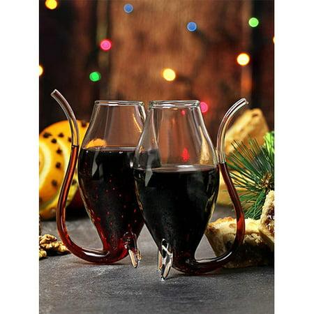Port Wine Sherry (The Wine Savant Elegant Port 3 oz. Stemless Wine Glass (Set of)