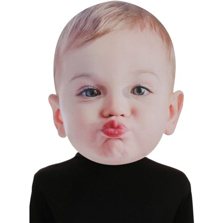 Baby Mask (Bobble Hedz By Seasons ™ Baby Kissing Face)