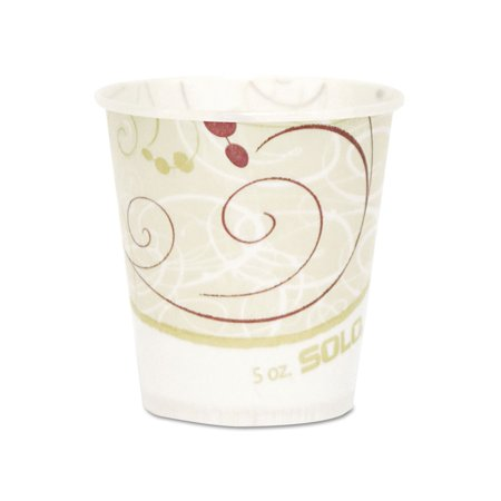 Discount Cups (Branded The Solo Paper Water Cups, Waxed, 5oz 100/Pack Pack of 1 [Qty Discount / wholesale)