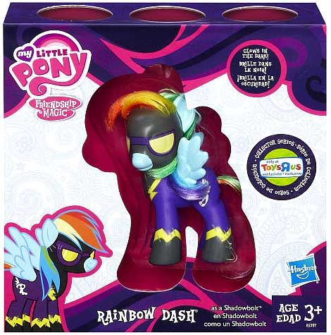 My Little Pony Collector Series Rainbow Dash as Shadowbolt Exclusive Figure](My Little Pony Rainbow Dash Clothes)