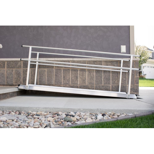 EZ-ACCESS Gateway Ramp with Handrail