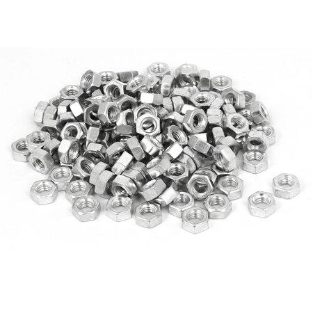 M6 x 5mm Plaqué Zinc Fer hexagonale Vis à écrous hexagonaux à glissière 200pcs - image 2 de 2