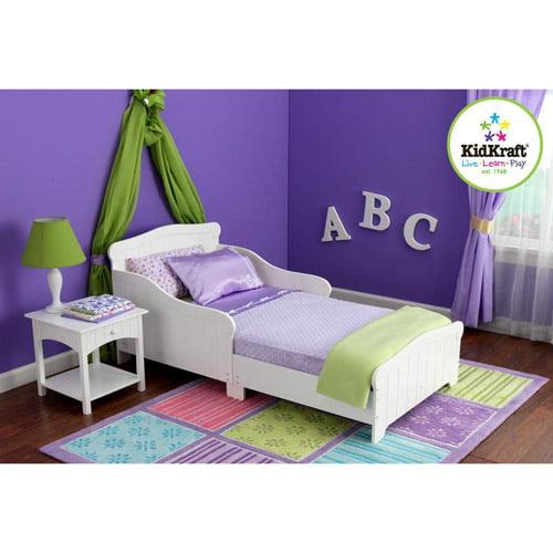 KidKraft - Nantucket Toddler Bed, White