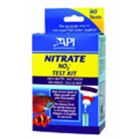 API Fishcare AP00018 Nitrate Test Kit For Freshwater/Saltwater, (2) 30 mL Bottle, 90 Test Per Kit