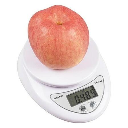 (Insten New 5Kg x 1g Digital Kitchen Scale Diet Food Compact Kitchen Scale 10lb x 0.04oz)