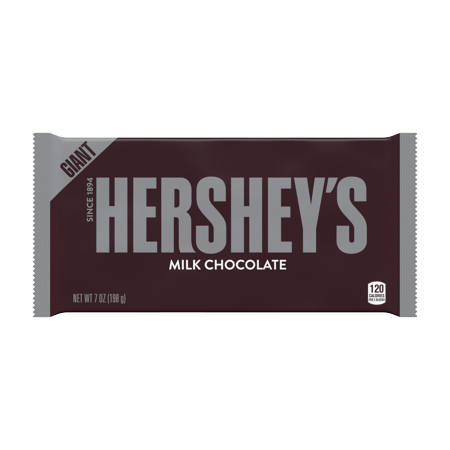 Giant Chocolate Peanut (Hershey's, Milk Chocolate Giant Bar, 7)