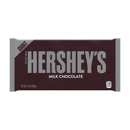 Hershey's, Milk Chocolate Giant Bar, 7 Oz