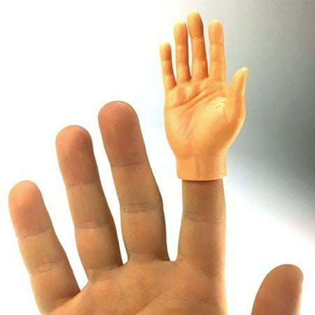 Finger Hands Right Light (1 Piece) White Caucasian Puppets Hand Caucasian Family Puppet Set
