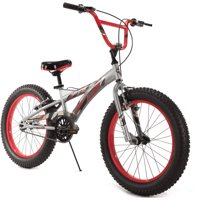 20 Inch Huffy Boys' Impulse? Bike with Plus Size Tires, Grey
