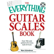 The Everything Guitar Scales Book with CD : Over 700 scale patterns for every style of music