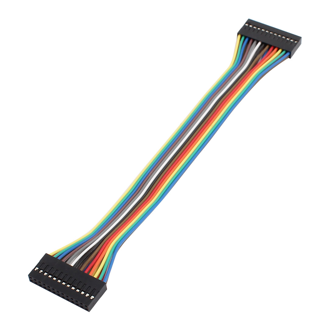 2x13P Jumper Wires Double Row Head Ribbon Cables Pi Pic Breadboard 21cm Long