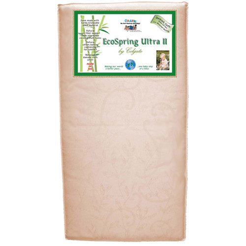 Colgate Cradletyme Naturals EcoSpring Ultra II Crib Mattress