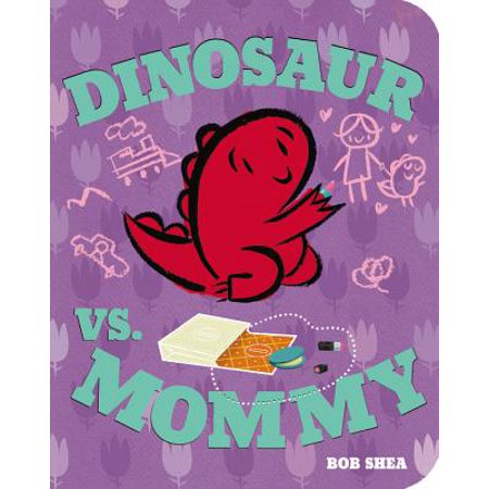 Dinosaur Vs Mommy (Board Book) (Halloween Vs Valentine's Day)