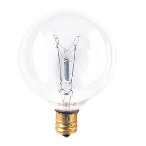 Bulbrite Industries Candelabra 130-Volt Incandescent Light Bulb (Set of 29)