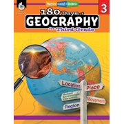 180 Days of Geography for Third Grade: Practice, Assess, Diagnose - eBook