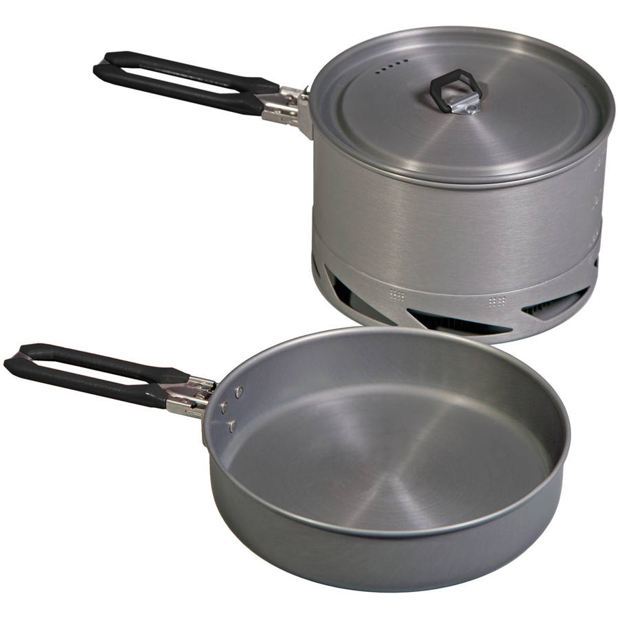 Camp Chef Stryker 4-Piece Cook Set, Silver, Silver by Camp Chef