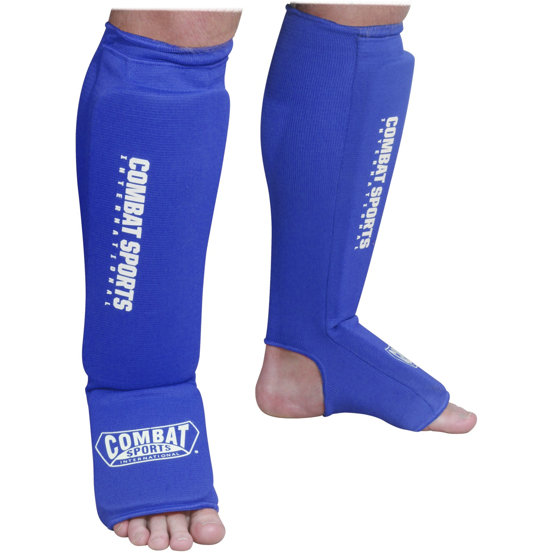 Combat Sports Washable Combination Cloth Shin Instep Guards