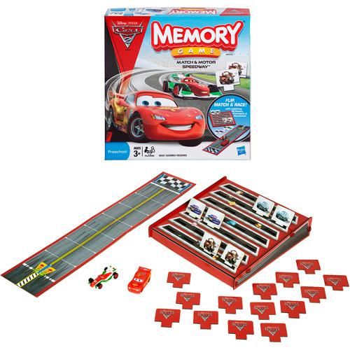 Memory Game Match and Motor Speedway Disney Pixar Cars 2 Edition