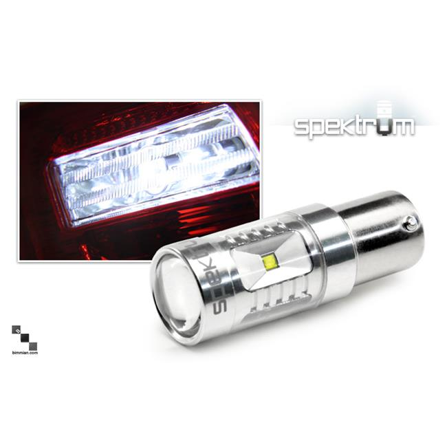 Bimmian LVL22HVWY Weisslicht LED Reverse Indicator Bulb For BMW F22 - White Illumination, Pair