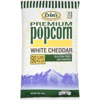 Erin's Premium White Cheddar Popcorn, 5 Oz.