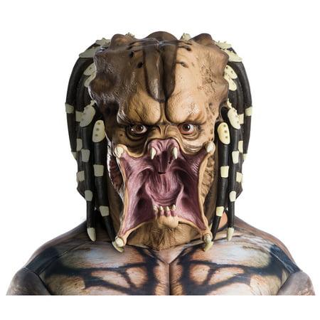 Adult Overhead Predator Latex Halloween Mask