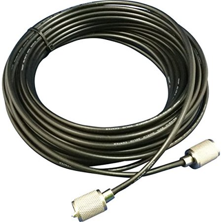 Tram 58UP B Rg58 U 95% Shielded Coax Cable with hand soldered PL-259 for Cb / Ham / Scanner Radio 75'